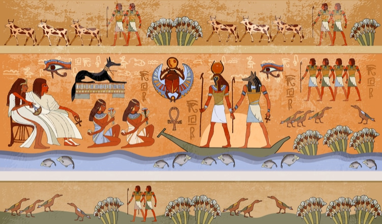 ancient egypt- an example of an inspirational historical period