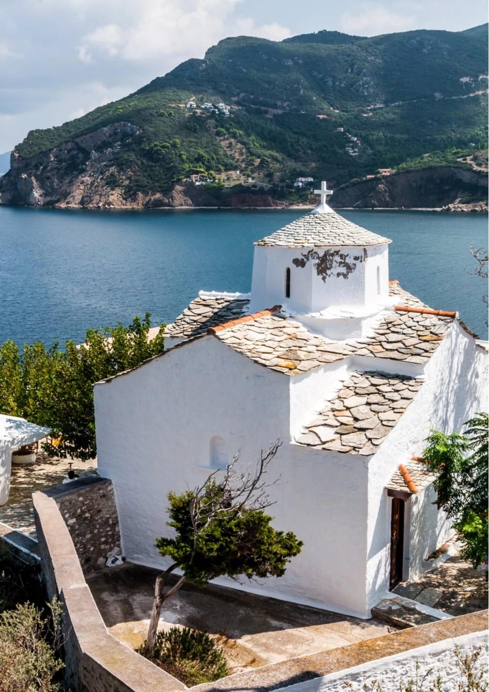 Evangelistria Monastery Skopelos