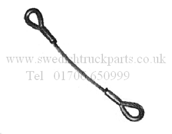 Scania Mid Lift Axle Wire Strap Cable 1739461 1516670