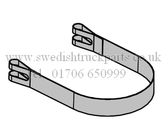 Volvo Exhaust Silencer Band Clamp FM FH FM9 FM12 FM13 FH12