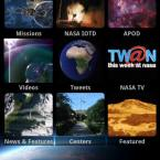 NASA App, skärmdump
