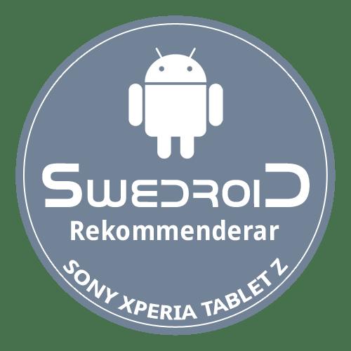 swedroid-rekommenderar-sony-xperia-tablet-z