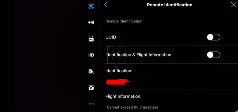 Fjärridentifering / Remote Identification