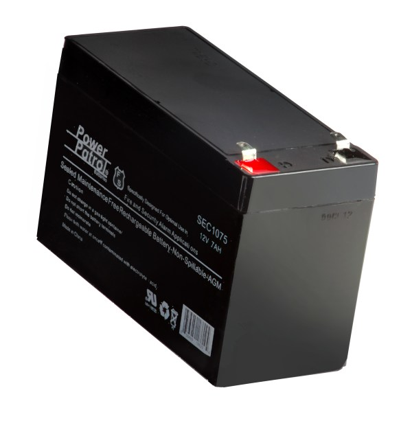 Rechargeable Battery - 12 Volt 8 Amp-hr Sweeney Feeders