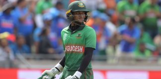 Shakib Al Hasan banned from all form of Cricket for 1 year