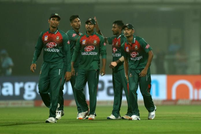 Bangladesh team vs India at Delhi