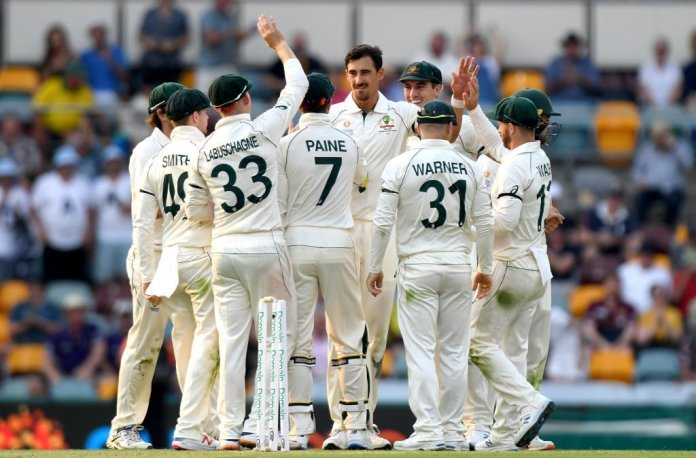 Australia vs Pakistan 1st test at Gabba, 2019