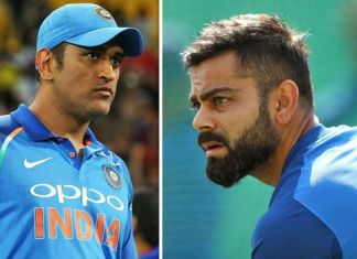 ms dhoni and virat kohli, virat and dhoni, kohli dhoni