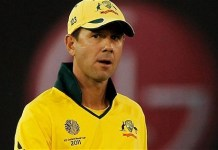 Ricky Ponting in World Cup 2011