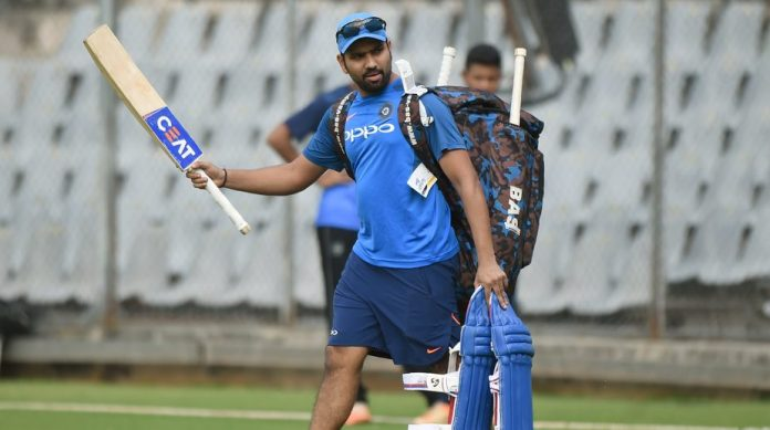 Rohit Sharma in Net Practice