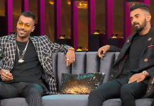 Hardik Pandya and KL Rahul on Koffee with Karan Show