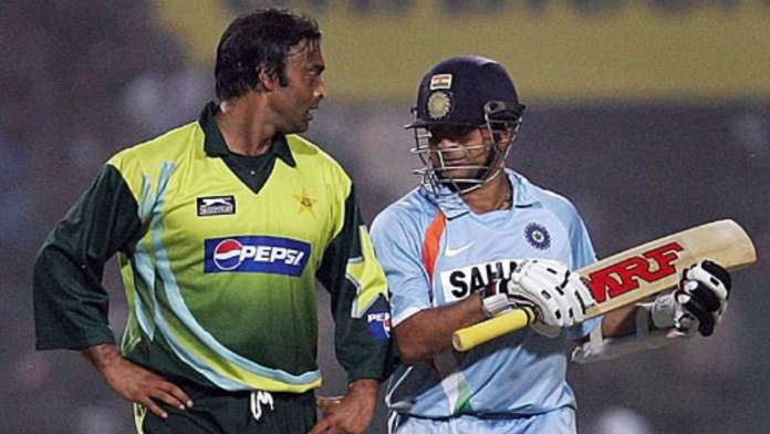 Shoaib Akhtar and Sachin Tendulkar, top 10 cricketers from India and Pakistan