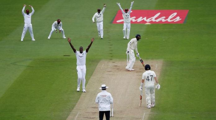 Umpire decision England vs West Indies 2nd test