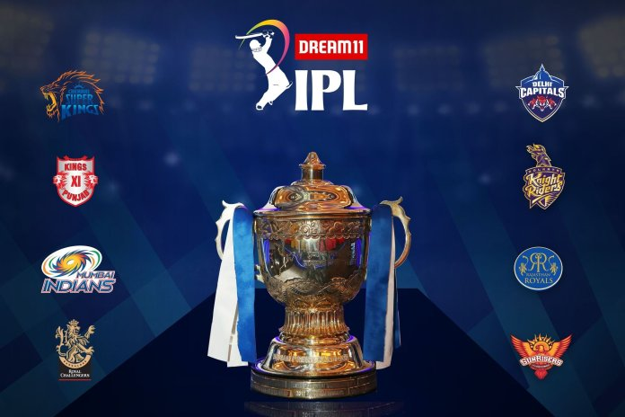 Dream 11 IPL 2020 Trophy
