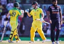 Steve Smith and Aaron Finch vs India at SCG, 2020, steve smith and aaron finch vs india,