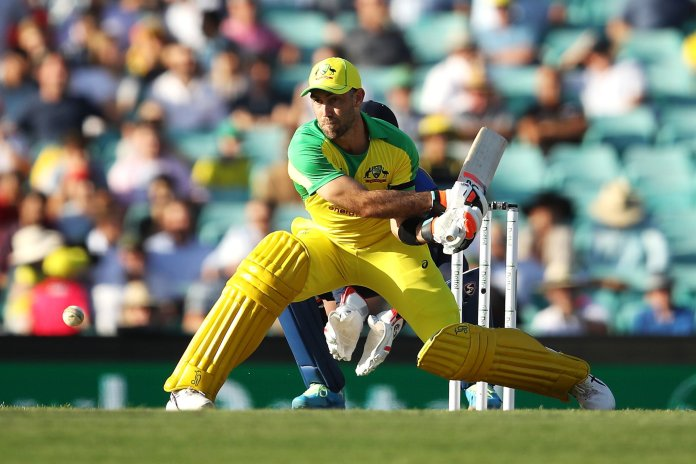Glenn Maxwell playing switch hits ian chappell