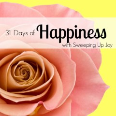 Happiness {9}:  My Sunday Best