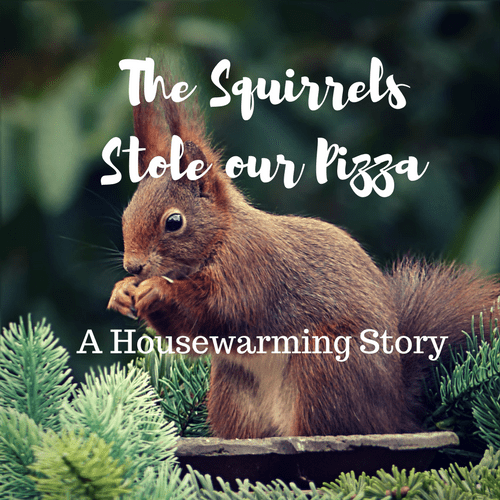The Squirrels Stole Our Pizza:  A Housewarming Story