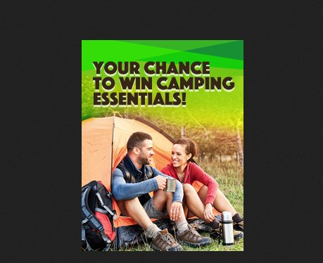 Sears  SYWR Shop Your Outdoors Sweepstakes