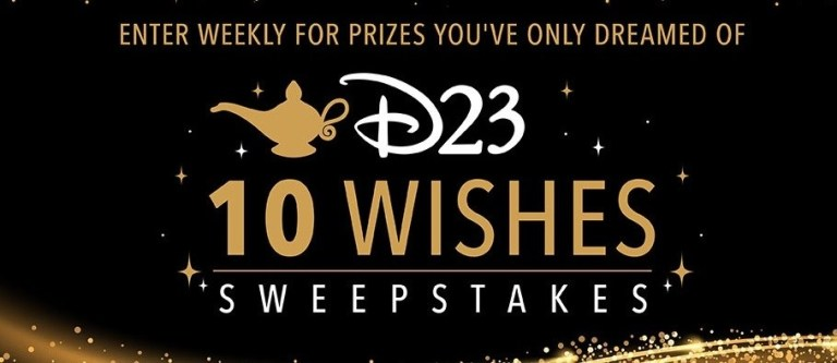 D23 10 Wishes Sweepstakes – Enter To Win Vacation Package