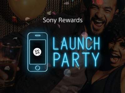Sony Rewards Launch Party Contest
