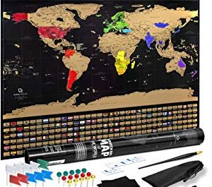 Scratch Off Map of the World – Online Sweepstakes