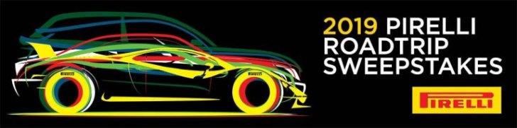 Pirelli Tire Road Trip Sweepstakes