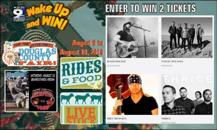 Kezi Wake Up And Win Douglas County Fair Sweepstakes