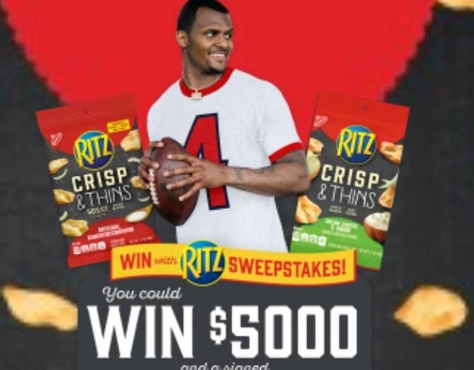 Ritz Win Cash Sweepstakes