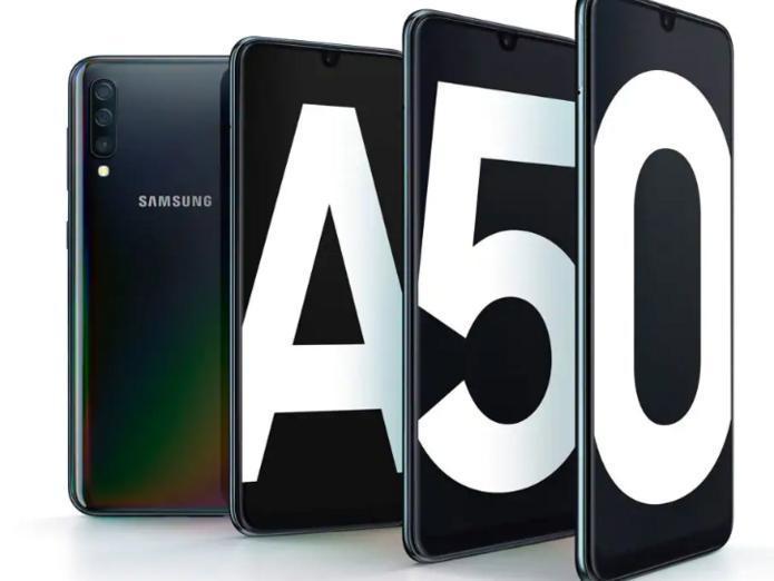 a free Samsung Galaxy A50.