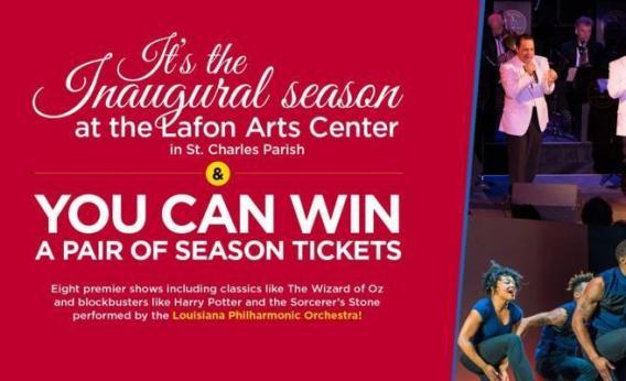 WWL-TV Lafon Arts Center Season Tickets Sweepstakes