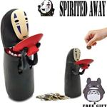 Kijea Spirited Away No Face Man Coin Bank Auto Eat Coin Piggy Bank Giveaway