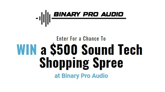 Binary Pro Audio Giveaway