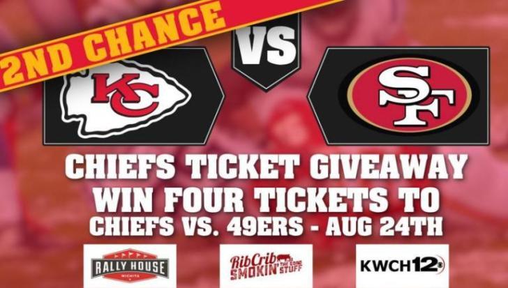 Chiefs Preseason Ticket Giveaway