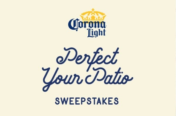 Corona Patio Makeover Sweepstakes