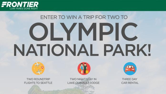 Frontier Airlines Olympic National Park Contest