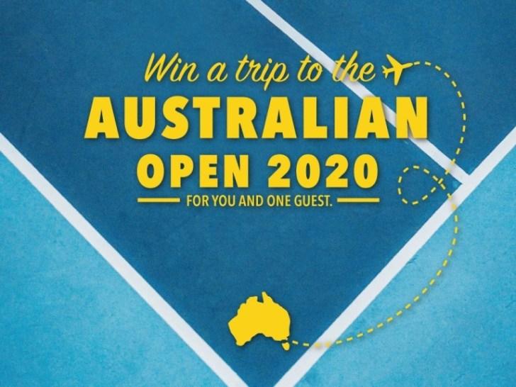 Grand Slam Tennis Tour Sweepstakes