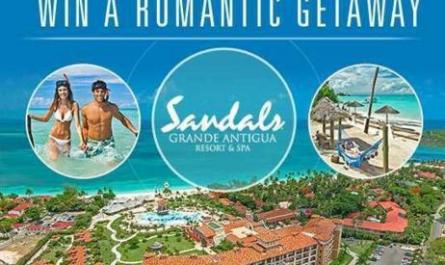 Sandals Grande Antigua Resort And Spa Sweepstakes
