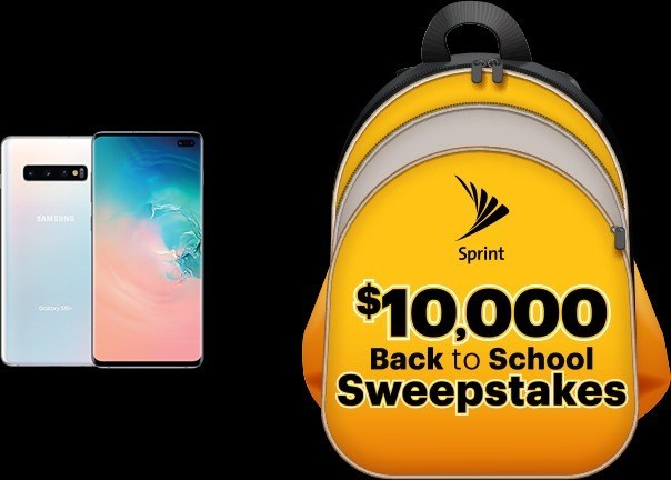 Sprint Communications Back to School Sweepstakes