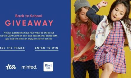 Tea Collection Back To School Giveaway