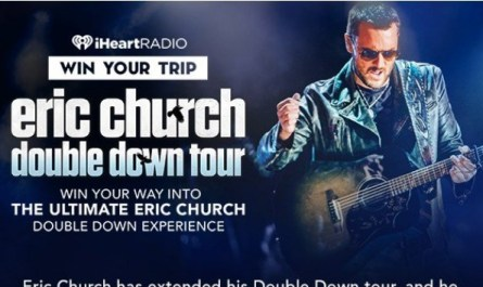 The Ultimate Eric Church Double Down Experience Sweepstakes