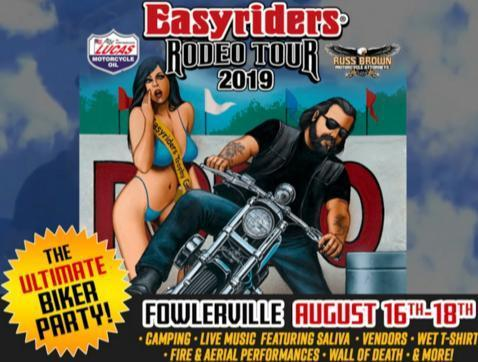 WRIF Easyrider Rodeo Tour Contest