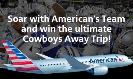 American Airlines Dallas Cowboys Sweepstakes
