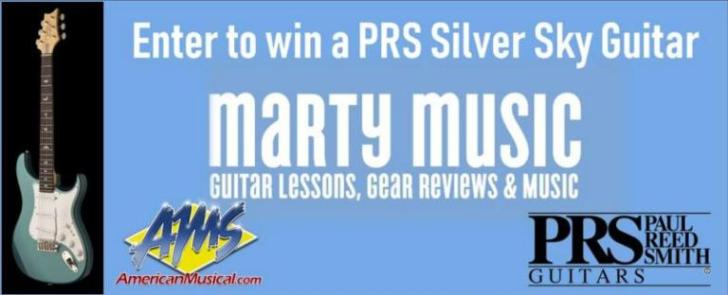 PRS Silver Sky Giveaway
