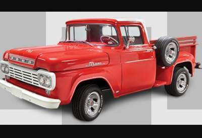 Art Van 1959 Ford Truck Giveaway