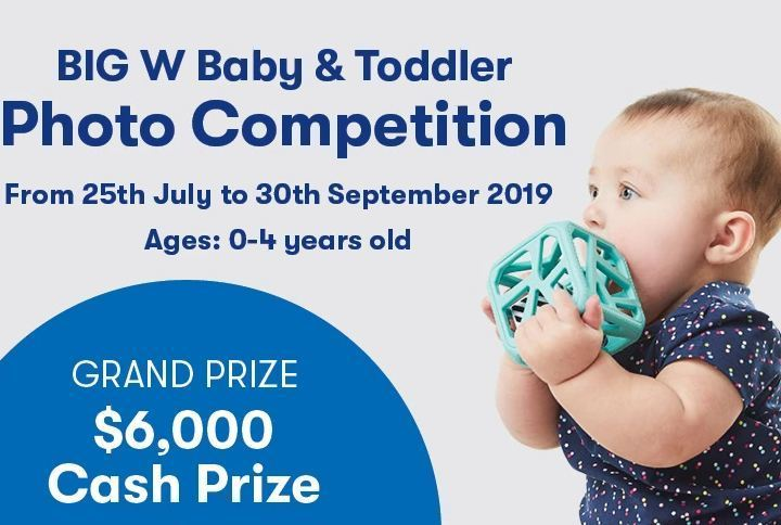 BIG W Photos Cutest Baby & Toddler Competition