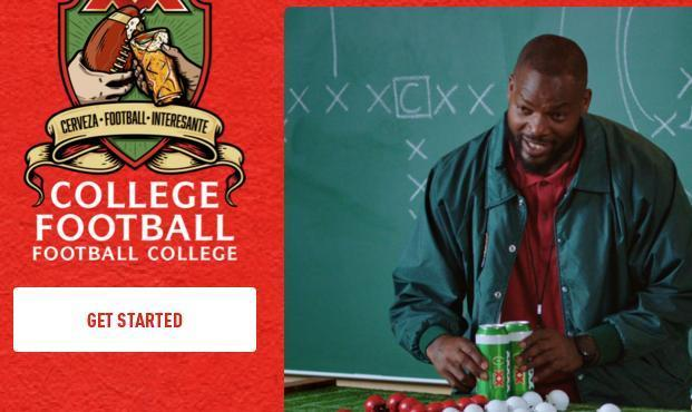 DOS Equis College Football Sweepstakes