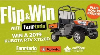 Farmtario Flip & Win Contest