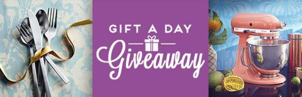HGTV Gift A Day Giveaway – Chance To Win Daily Prizes