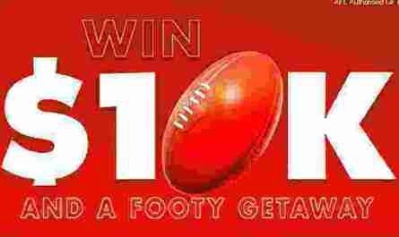 Lucky AAMI Footy Getaway Competition